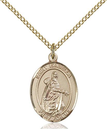 St. Isabella of Portugal Medal - 83922 Saint Medal