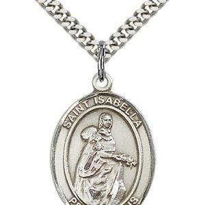 St. Isabella of Portugal Medal - 82552 Saint Medal
