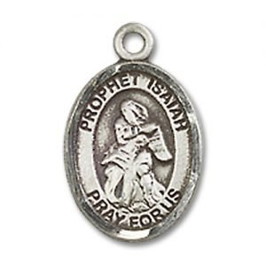 St. Isaiah Charm - Sterling Silver (#85136)