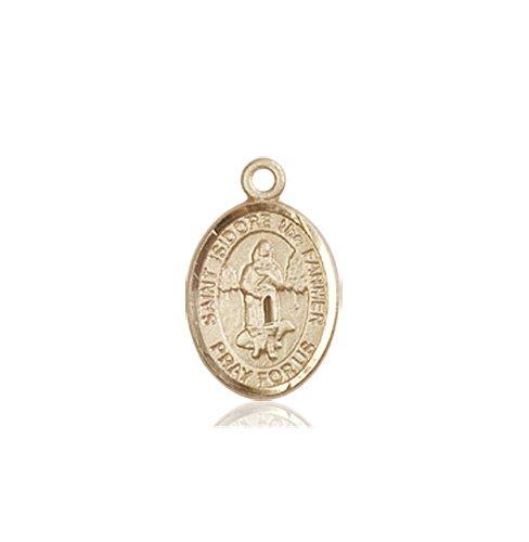 St. Isidore the Farmer Charm - 85180 Saint Medal