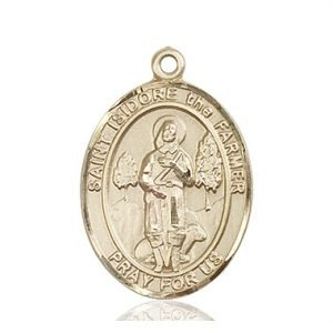 St. Isidore the Farmer Medal - 82620 Saint Medal