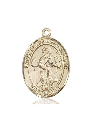 St. Isidore the Farmer Medal - 82620 Saint Medal