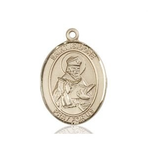 St. Isidore of Seville Medal - 83414 Saint Medal