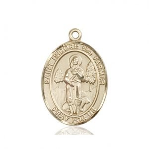 St. Isidore the Farmer Medal - 83992 Saint Medal