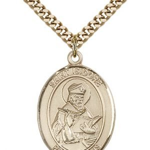 St. Isidore of Seville Medal - 82047 Saint Medal