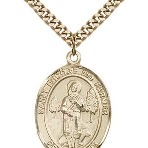 St. Isidore the Farmer Medal - 82619 Saint Medal