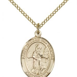 St. Isidore the Farmer Medal - 83991 Saint Medal