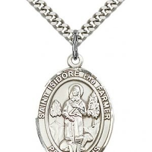 St. Isidore the Farmer Medal - 82621 Saint Medal