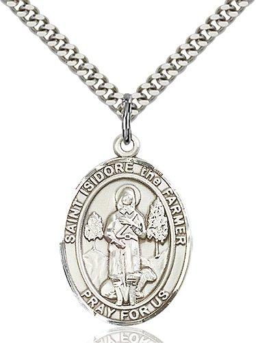 St. Isidore the Farmer Medal - 82621 Saint Medal