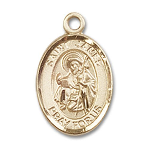 St. James the Greater Charm - 14 Karat Gold Filled (#84607)