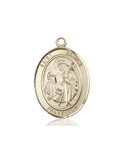 St. James the Greater Medal - 83417 Saint Medal