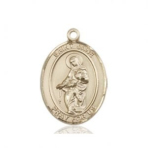 St. Jane of Valois Medal - 83357 Saint Medal