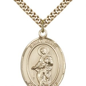 St. Jane of Valois Medal - 81990 Saint Medal