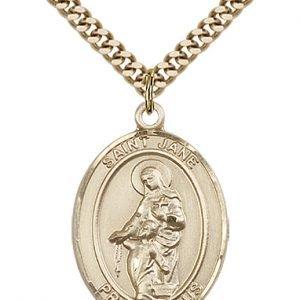 St. Jane of Valois Medal - 81990 Saint Medal
