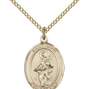 St. Jane of Valois Medal - 83356 Saint Medal