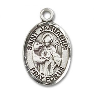 St. Januarius Charm - Sterling Silver (#85372)