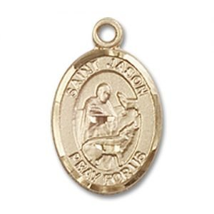 St. Jason Charm - 14 Karat Gold Filled (#84610)
