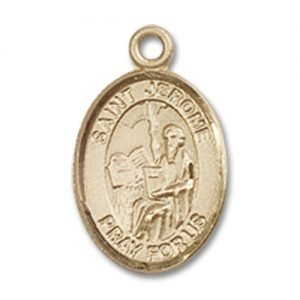 St. Jerome Charm - 14 Karat Gold Filled (#84834)