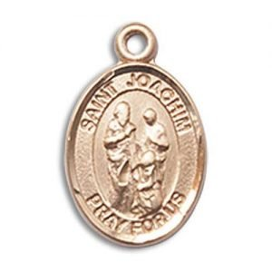 St. Joachim Charm - 14 Karat Gold Filled (#85361)