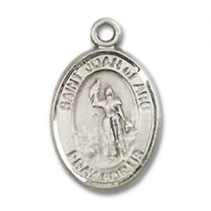 St. Joan of Arc Charm - Sterling Silver (#M0021)