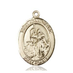 St. Joan of Arc Medal - 82060 Saint Medal