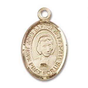 St. John Baptist De La Salle Charm - 14 Karat Gold Filled (#85146)