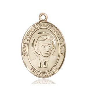 St. John Baptist De La Salle Medal - 82587 Saint Medal