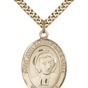 St. John Baptist De La Salle Medal - 82586 Saint Medal