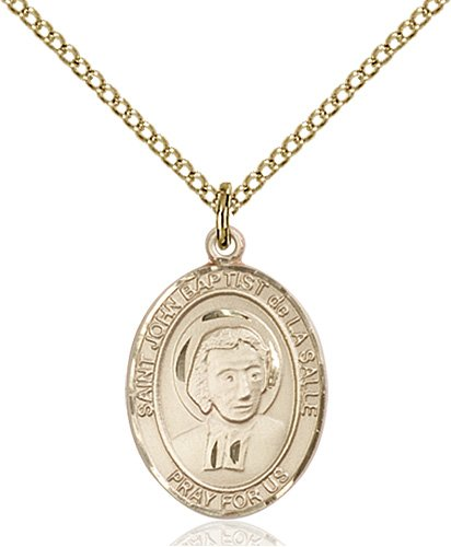 St. John Baptist De La Salle Medal - 83958 Saint Medal