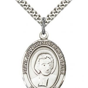 St. John Baptist De La Salle Medal - 82588 Saint Medal