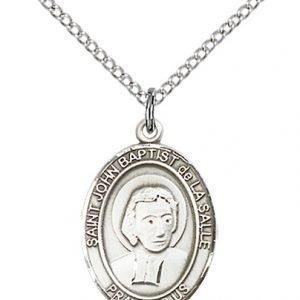St. John Baptist De La Salle Medal - 83960 Saint Medal