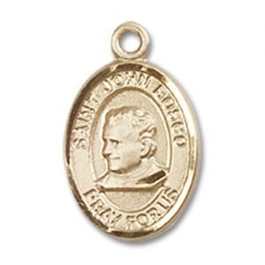 St. John Bosco Charm - 14 Karat Gold Filled (#84622)
