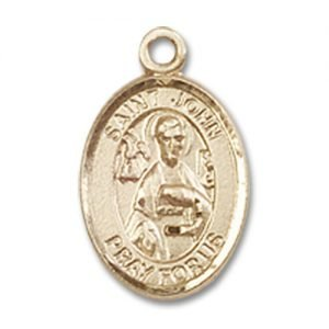 St. John the Apostle Charm - 14 Karat Gold Filled (#84625)