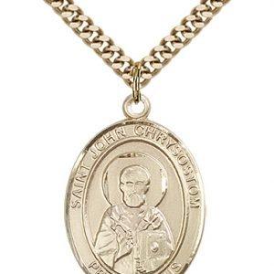 St. John Chrysostom Medal - 82826 Saint Medal
