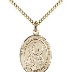 St. John Chrysostom Medal - 84198 Saint Medal