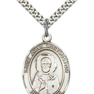 St. John Chrysostom Medal - 82828 Saint Medal