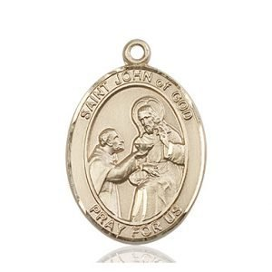 St. John of God Medal - 82224 Saint Medal