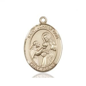 St. John of God Medal - 83590 Saint Medal