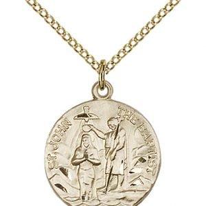 St. John the Baptist Medal - 81801 Saint Medal