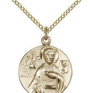 St. John the Evangelist Medal - 81807 Saint Medal