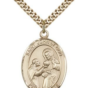 St. John of God Medal - 82223 Saint Medal