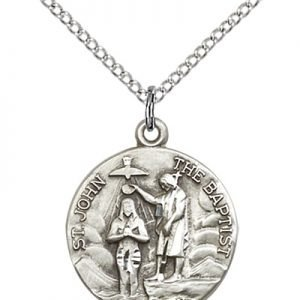 St John the Baptist Medals