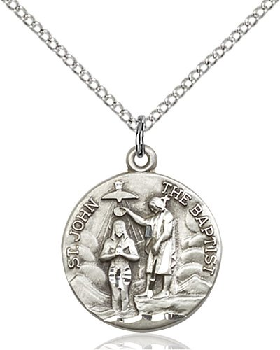 St. John the Baptist Medal - 81803 Saint Medal