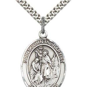 St. John the Baptist Medal - 82064 Saint Medal