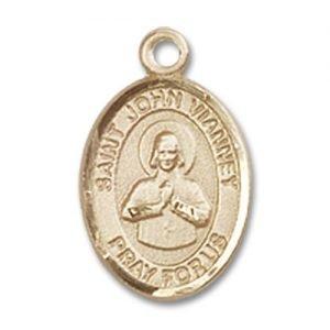 St. John Vianney Charm - 14 Karat Gold Filled (#85197)