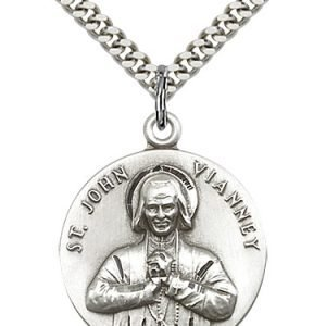 St. John Vianney Medal - 81732 Saint Medal