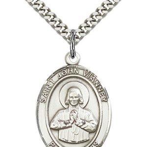 St. John Vianney Medal - 82639 Saint Medal