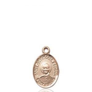 St. Josemaria Escriva Charm - 14 KT Gold (#85401)