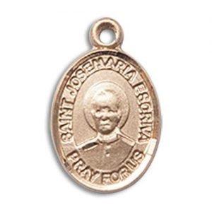 St. Josemaria Escriva Charm - 14 Karat Gold Filled (#85400)