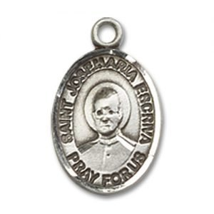St. Josemaria Escriva Charm - Sterling Silver (#85402)
